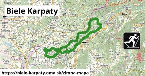 ikona Zimná mapa zimna-mapa  biele-karpaty