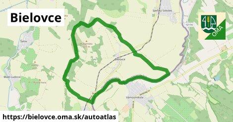 ikona Mapa autoatlas  bielovce