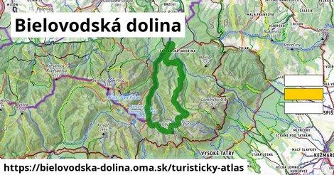 ikona Turistická mapa turisticky-atlas  bielovodska-dolina