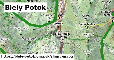 ikona Zimná mapa zimna-mapa  biely-potok