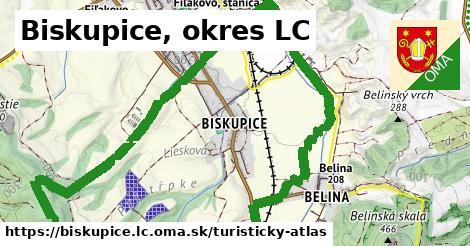 ikona Turistická mapa turisticky-atlas  biskupice.lc