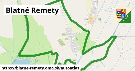 ikona Mapa autoatlas  blatne-remety