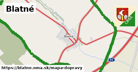 ikona Mapa dopravy mapa-dopravy  blatne