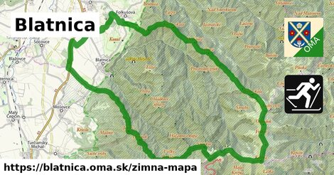 ikona Zimná mapa zimna-mapa  blatnica