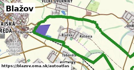 ikona Mapa autoatlas  blazov