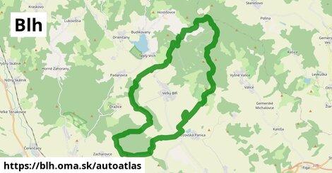 ikona Mapa autoatlas  blh
