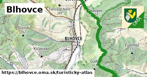 ikona Turistická mapa turisticky-atlas  blhovce