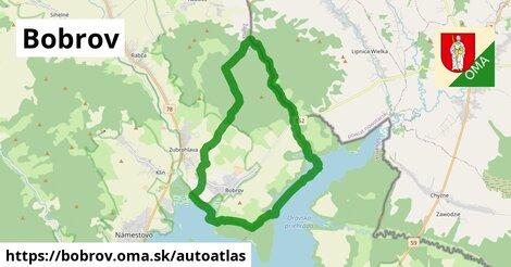 ikona Mapa autoatlas  bobrov