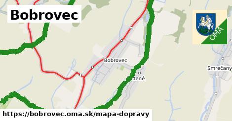 ikona Mapa dopravy mapa-dopravy  bobrovec
