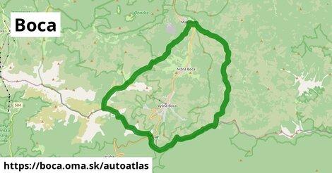 ikona Mapa autoatlas  boca
