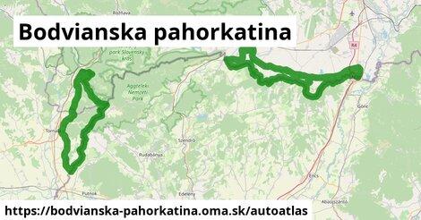ikona Mapa autoatlas  bodvianska-pahorkatina