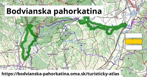 ikona Turistická mapa turisticky-atlas  bodvianska-pahorkatina