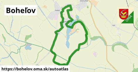 ikona Mapa autoatlas  bohelov