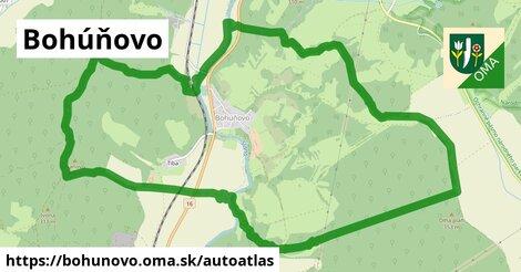 ikona Mapa autoatlas  bohunovo