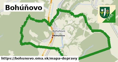 ikona Mapa dopravy mapa-dopravy  bohunovo