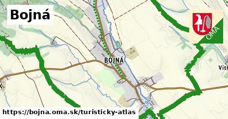 ikona Bojná: 12,9km trás turisticky-atlas  bojna
