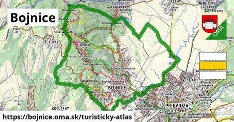 ikona Turistická mapa turisticky-atlas  bojnice