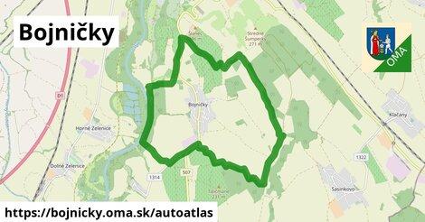 ikona Mapa autoatlas  bojnicky