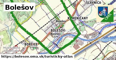 ikona Turistická mapa turisticky-atlas  bolesov
