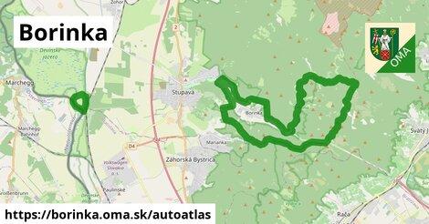 ikona Mapa autoatlas  borinka