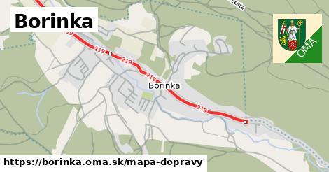 ikona Mapa dopravy mapa-dopravy  borinka