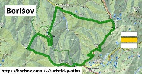 ikona Turistická mapa turisticky-atlas  borisov
