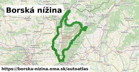 ikona Mapa autoatlas  borska-nizina