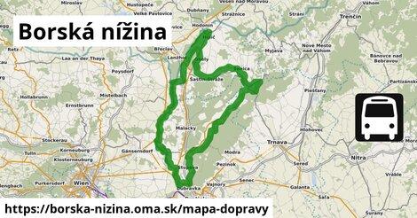 ikona Mapa dopravy mapa-dopravy  borska-nizina