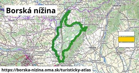 ikona Turistická mapa turisticky-atlas  borska-nizina