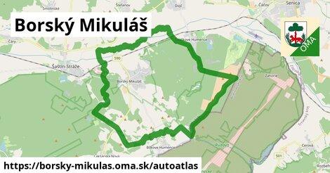 ikona Mapa autoatlas  borsky-mikulas