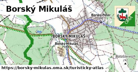 ikona Turistická mapa turisticky-atlas  borsky-mikulas