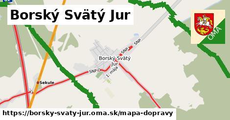 ikona Mapa dopravy mapa-dopravy  borsky-svaty-jur