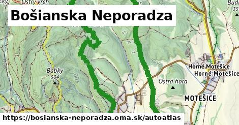ikona Mapa autoatlas  bosianska-neporadza