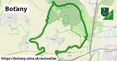 ikona Mapa autoatlas  botany