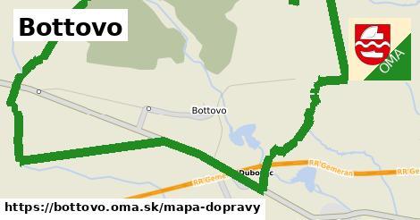 ikona Mapa dopravy mapa-dopravy v bottovo