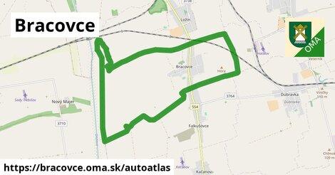 ikona Mapa autoatlas  bracovce