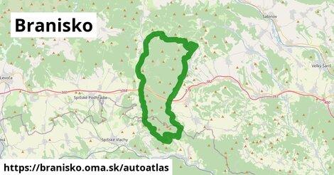 ikona Mapa autoatlas  branisko