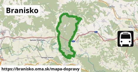 ikona Mapa dopravy mapa-dopravy  branisko