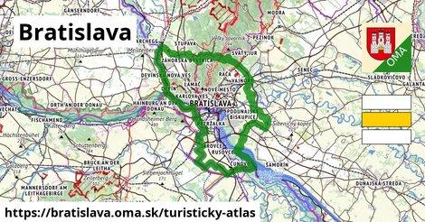 ikona Turistická mapa turisticky-atlas  bratislava