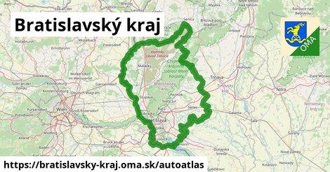 ikona Mapa autoatlas  bratislavsky-kraj