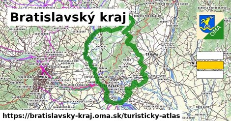 ikona Turistická mapa turisticky-atlas  bratislavsky-kraj