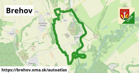 ikona Mapa autoatlas  brehov