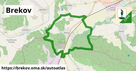 ikona Mapa autoatlas  brekov