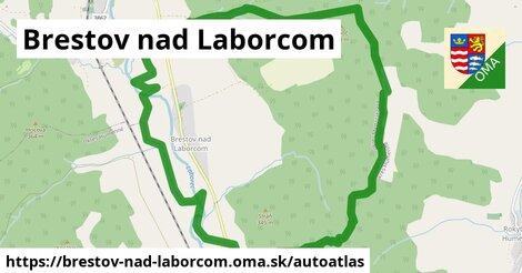 ikona Mapa autoatlas  brestov-nad-laborcom