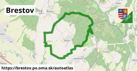 ikona Mapa autoatlas  brestov.po