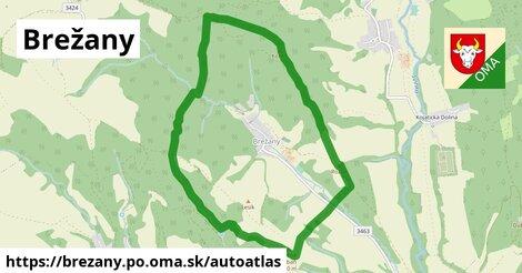 ikona Mapa autoatlas  brezany.po