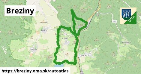 ikona Mapa autoatlas  breziny