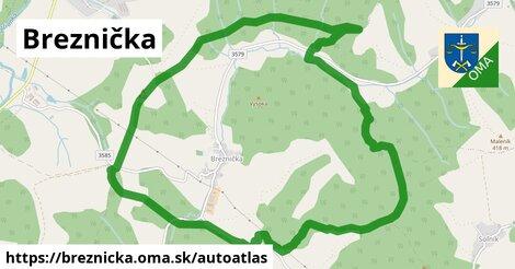 ikona Mapa autoatlas  breznicka