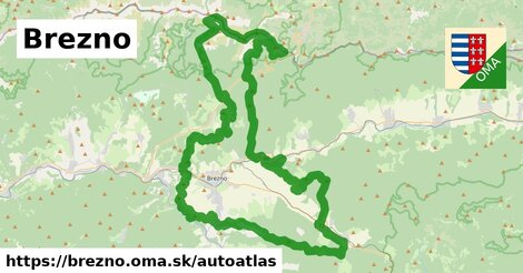 ikona Mapa autoatlas  brezno