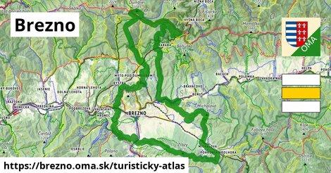 ikona Turistická mapa turisticky-atlas  brezno